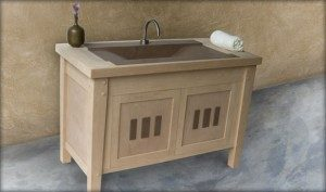 Arts and Craft Bathroom Cabinets