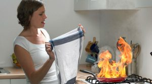 How to Deal With Kitchen Fire
