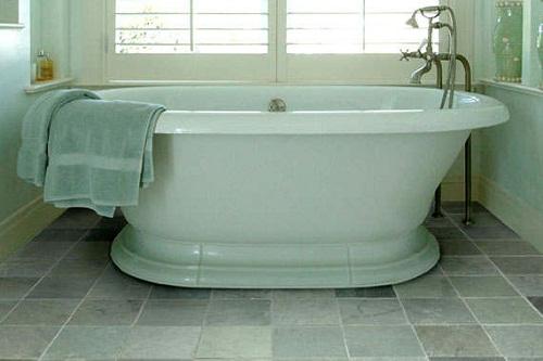 Bathroom Slate Flooring
