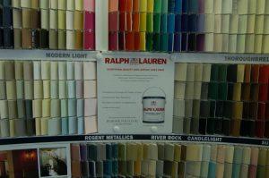 Ralph Lauren Suede Paint Samples