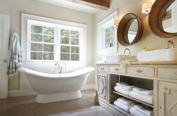 Cottage Style Bathrooms Decorating