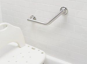 Angled Bathroom Safety Bars