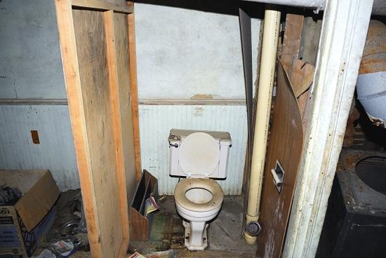 Ejector Toilets Basement Installation