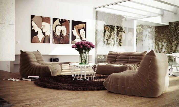 Color Schemes for Living Rooms with Brown Furniture