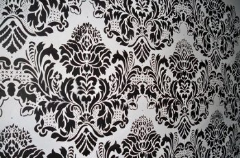 Damask Wall Stencil Ideas