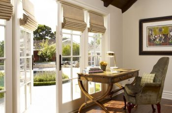 Cordless Roman Shades for Windows