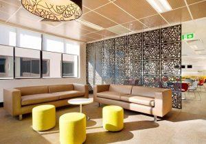 Hanging Room Divider Panels