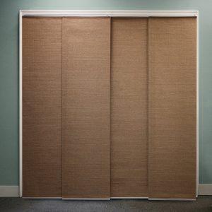 Sliding Panel Curtains for Sliding Glass Doors