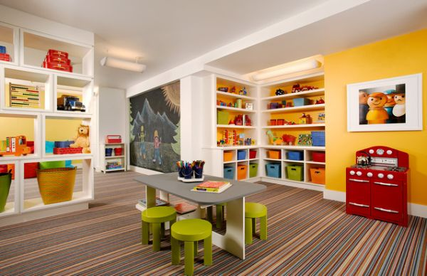 Kids Playroom Color Schemes
