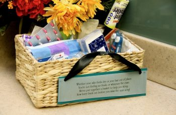 Wedding Bathroom Basket List