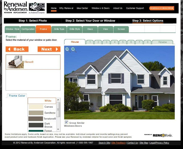 Home design tips home decoration ideas - Virtual paint your house exterior minimalist ...
