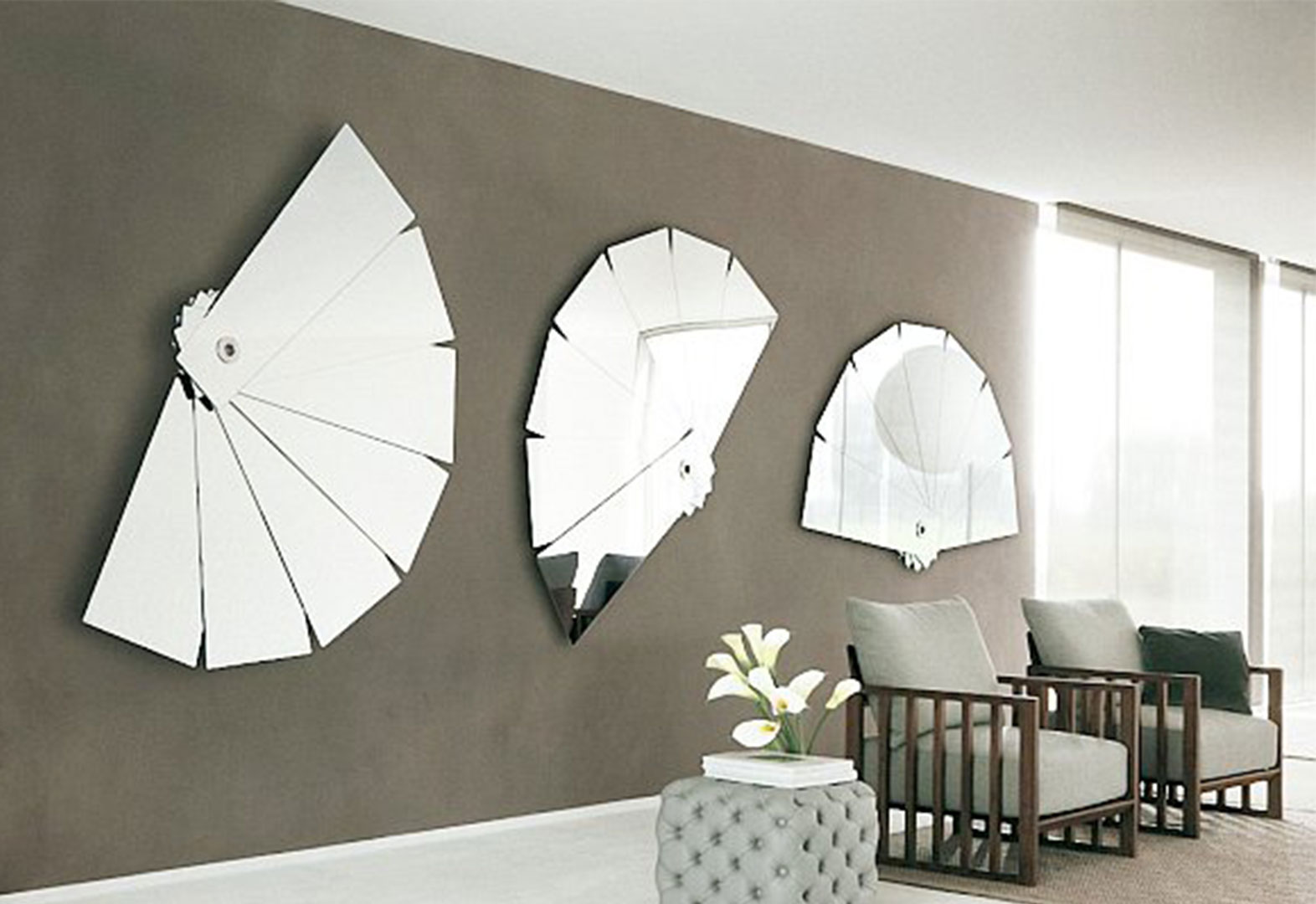 Cheap Large Wall Mirrors for Living Room
