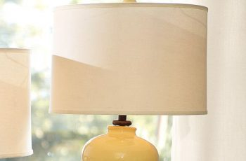 how to cover a drum lamp shade
