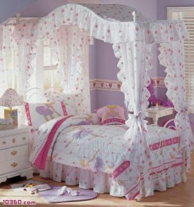 Girls Princess Bedroom Furniture