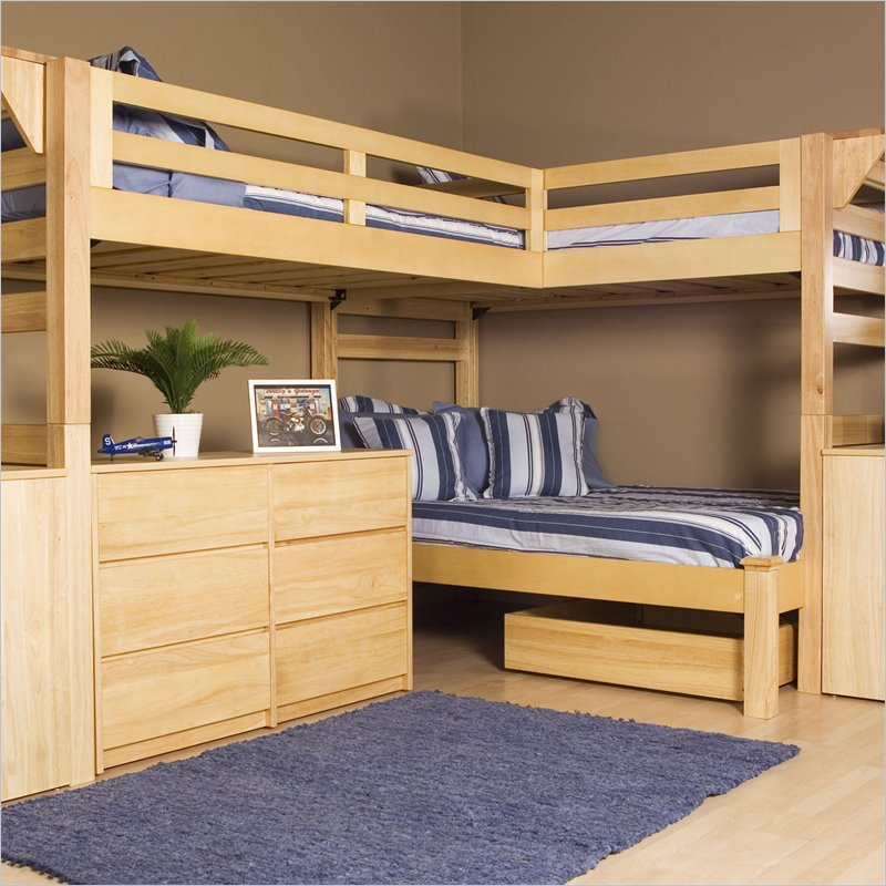 Triple Bunk Bed Design