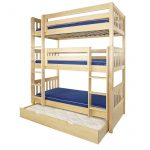 Triple Bunk Bed Plans l Shaped