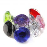 Crystal Door Knobs for Modern Doors
