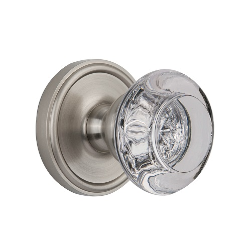 Crystal Door Knobs Baldwin