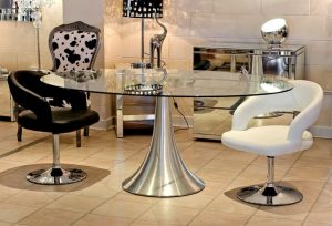 Glass Dining Table Sets Oval