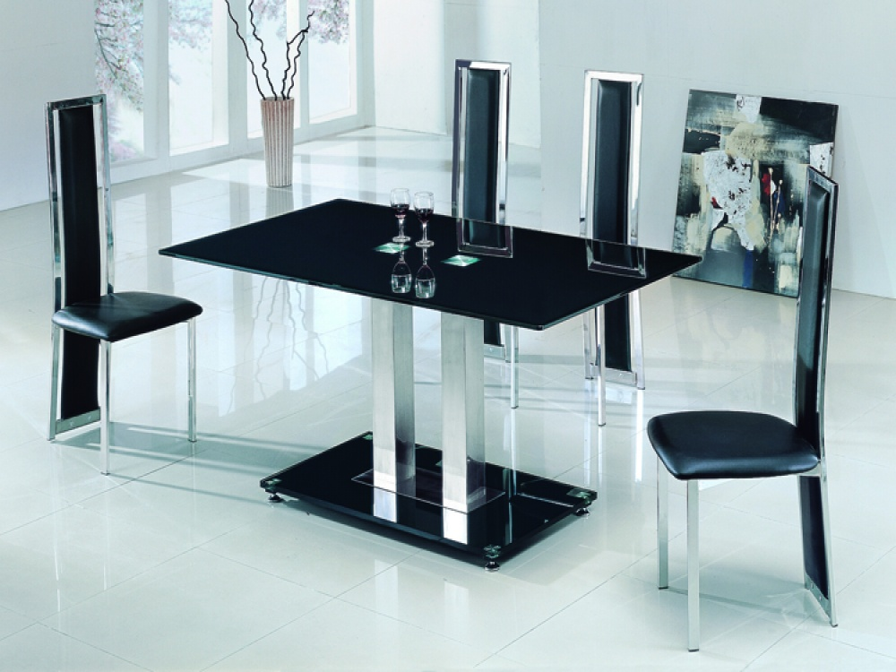 Glass Dining Table image 003