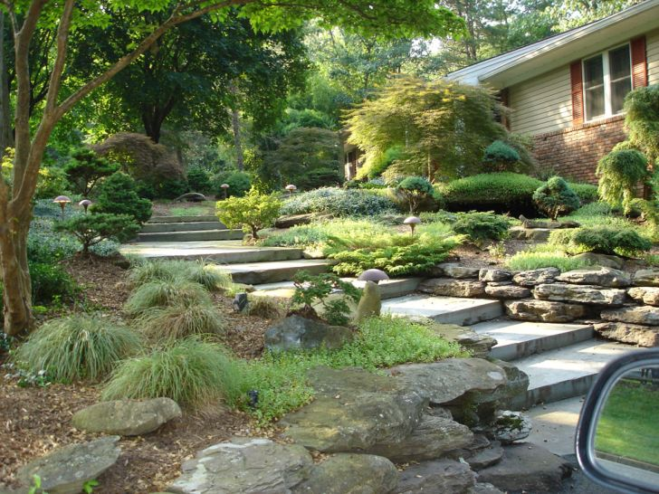 Landscape Ideas for Front Yard Rock Ideas