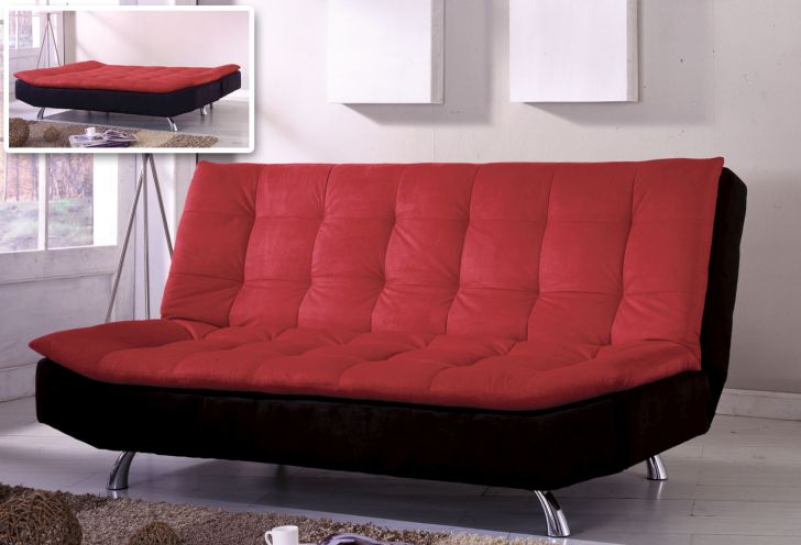 Cheap Futon Sofa Bed Malibu Microfiber
