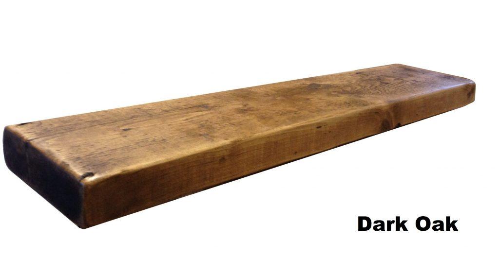 Mantel Shelf Design Timber Dark Oak