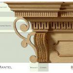 Mantel Shelf Design Timber Magical Entablature