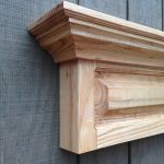 Mantel Shelf Design Timber Raised Panel
