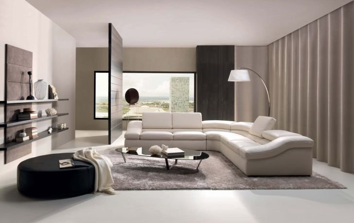 Modern Sofa Design Furniture with Elegant Interior