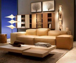 Modern Sofa Design Furniture with Light
