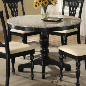 Pedestal Dining Table Set Contemporary
