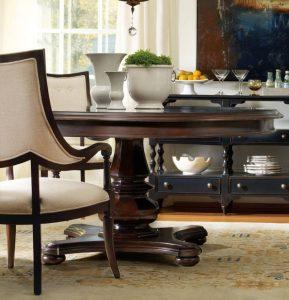 Pedestal Dining Table Set Hooker Furniture Estate