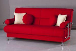 Cheap Futon Sofa Bed Red