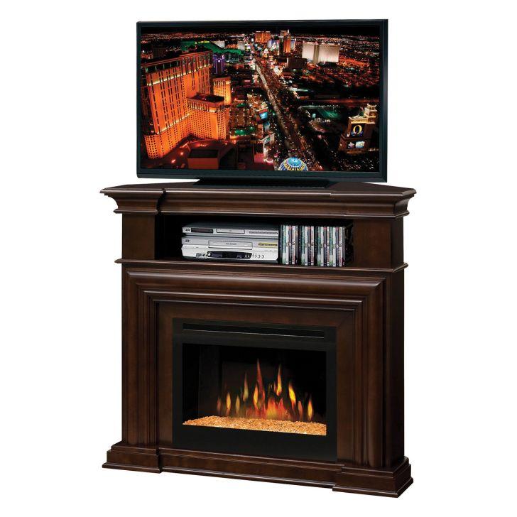 TV Stand Fireplace Mantel