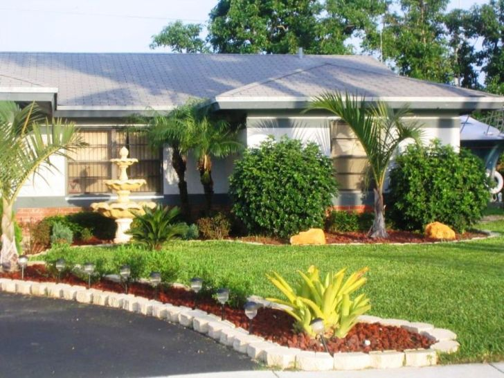 landscape ideas for front yard shade