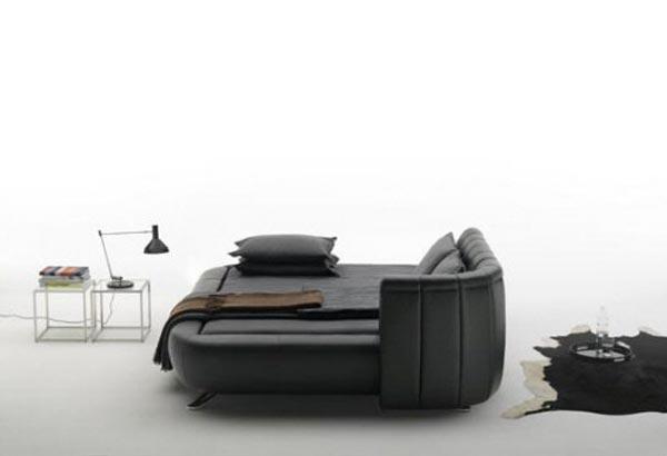Leather Beds De Sede Adjustable Headboard