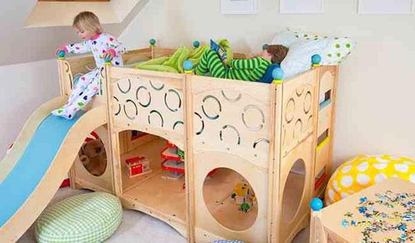 Rhapsody Beds by CedarWorks - Camas Juegos 5