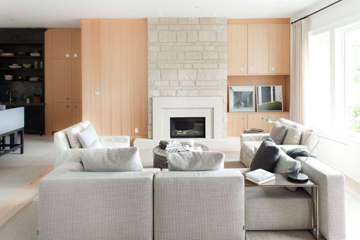 Open Layout Farmhouse Interior Design