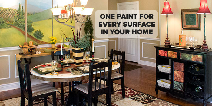 Paint Conversion Chart Americana – Dining Room