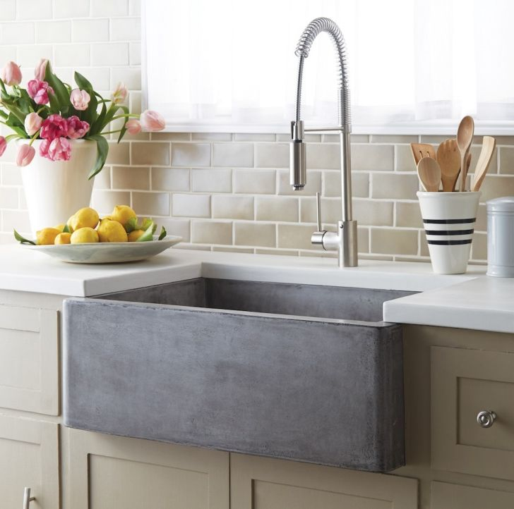 Stylish Concrete Sink by Native Trails
