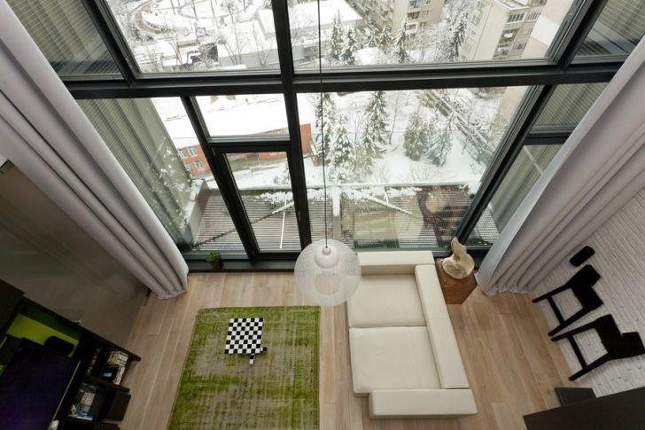 Beautiful Loft Architecture Living Zone Design