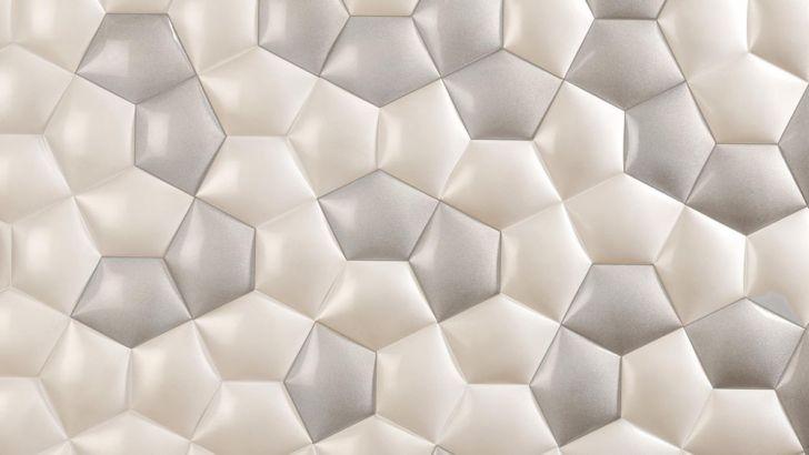 Kin Ceramic Tile Create Perfect Game of Geometry