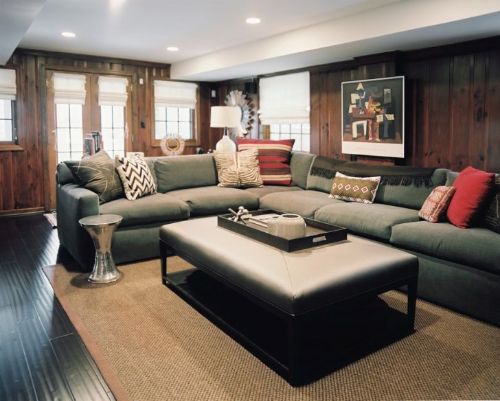 Large Eclectic House Interior