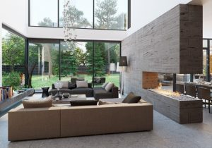 Home with Soothing Atmosphere Provided by Natural Touch