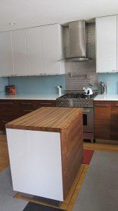 Retractable Kitchen Island by Tim Thaler