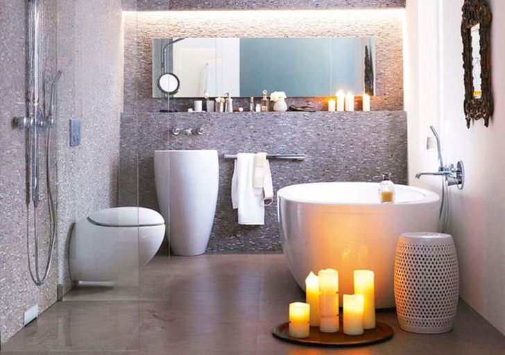 Bathroom Design Ideas with Elegant Bathub