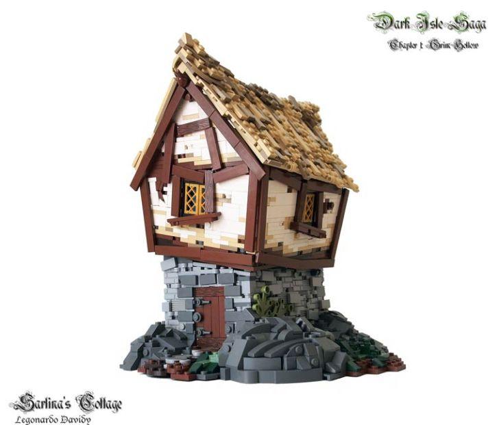 Dark Isle Saga Lego House