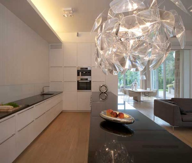 Elegant Kitchen Eko Park 3 Apartment