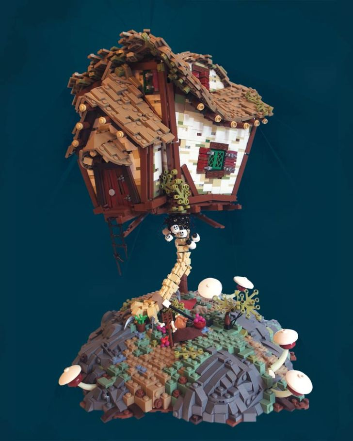 Lego Lord of the Rings House for Kids